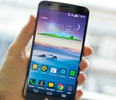 smartphone terkena air