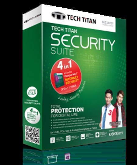 Kaspersky Tech Titan Security Suite