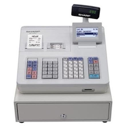 Mesir Kasir Sharp XEA 307 Scanner Barcode