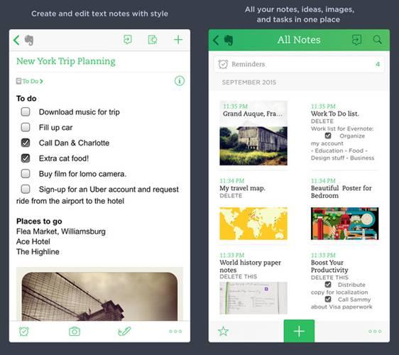 evernote aplikasi ipad pro terbaik