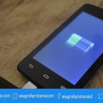 tips mengatasi baterai smartphone