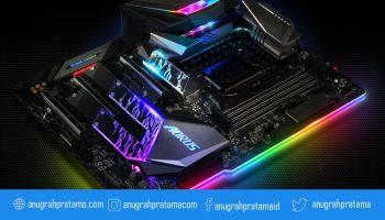 Motherboard AMD Aorus untuk pembuat konten dan gaming
